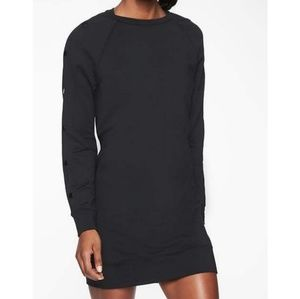 Athleta Snappy Sweatshirt Dress Oversized Top